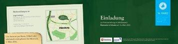Einladung und Programm - Institut für Ökonomische Bildung