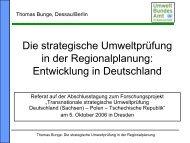 Die strategische Umweltprüfung in der Regionalplanung ...