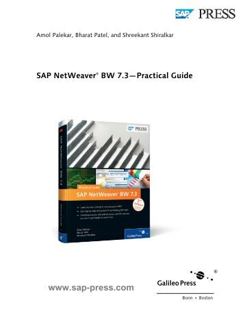 Download Sap netweaver bw 7.3 - practical guide
