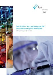 ipal GmbH – Your partner from the invention through to innovation