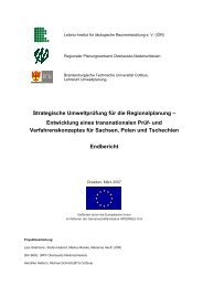 geringe Druckqualität - Leibniz-Institut für ökologische ...