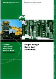 Freight Village Berlin East Freienbrink - GVZ