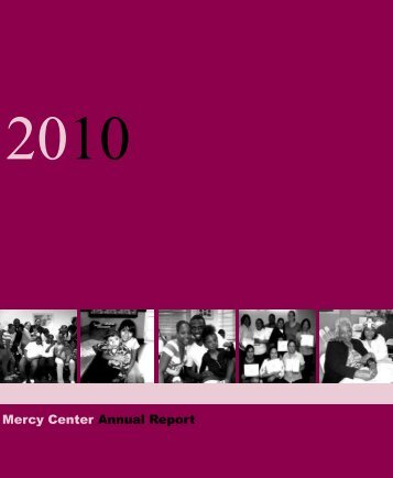 Mercy Center Annual Report