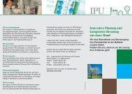 Innovative Planung und kompetente Beratung aus einer Hand - IPU