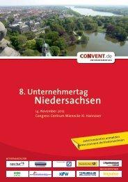 8. Unternehmertag Niedersachsen - Convent