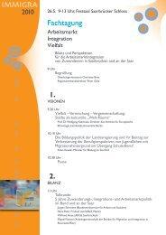 Tagungsprogramm - IQ-Consult