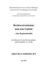 Rechtsextremismus und sein Umfeld - IG Metall Waiblingen
