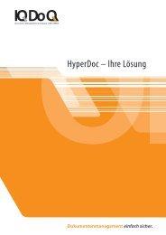 HyperDoc – Ihre Lösung - IQDoQ GmbH