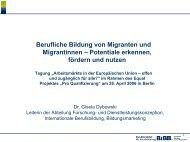 Vortrag Dr. Gisela Dybowski,