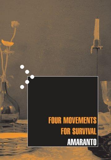 AMARANTO FOUR MOVEMENTS FOR SURVIVAL - Teatre Lliure