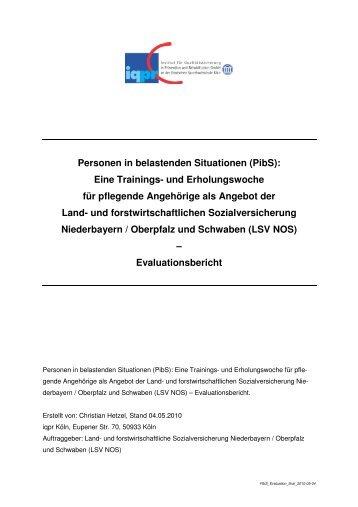 bericht als pdf iqpr - Verschwiegenheitserklrung Muster