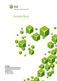 download PDF file - ISC Innovative Systems Consulting AG