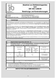 Bewehren von Stahlbetontragwerken nach DIN 1045-1:2008 ... - ISB