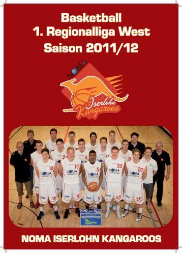 Basketball 1. Regionalliga West Saison 2011/12 - NOMA-Iserlohn ...