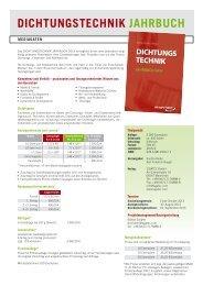 diCHtUnGSteCHniK JaHRBUCH - ISGATEC GmbH