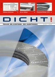 durch die trockenlaufende Wellenlippendichtung - ISGATEC GmbH