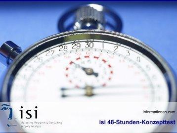 isi 48-Stunden-Konzepttest - Isi-goettingen.de