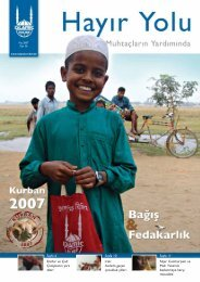 Nijer Cumhuriyeti ve Mali: Yetersiz beslenmeye ... - Islamic Relief e.V.