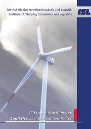Broschüre Offshore Windenergie Logistik - Institut für ...