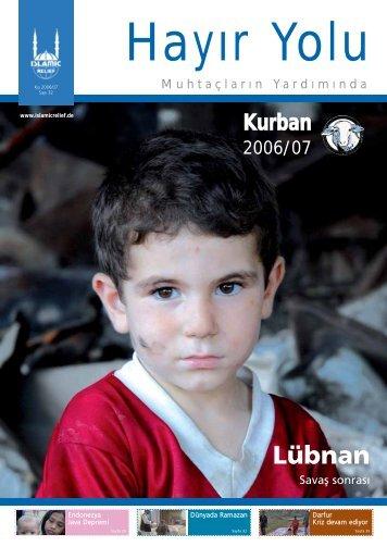 Lübnan - Islamic Relief e.V.