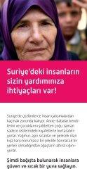 Suriye'deki insanların sizin yardımınıza ... - Islamic Relief e.V.