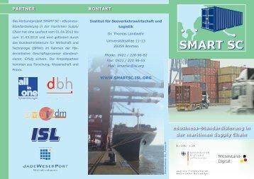 SMART SC - Institut für Seeverkehrswirtschaft und Logistik