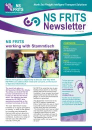 NS FRITS Winter Newsletter 2009