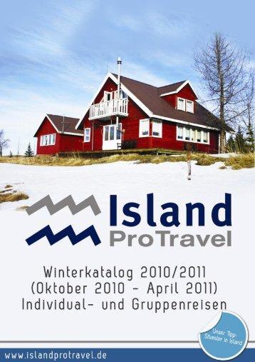 Winterkatalog DE 2010 - 2011 FINAL - Island ProTravel