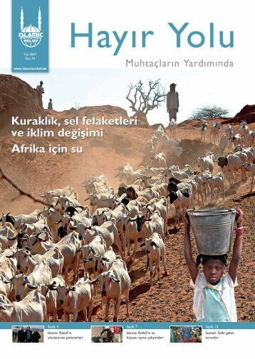 Islamic Relief'in uluslararas› partnerleri Islamic ... - Islamic Relief e.V.