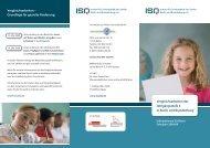 Vergleichsarbeiten der Jahrgangsstufe 3 - Institut für Schulqualität