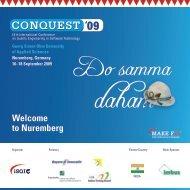 conquest 2009 - iSQI