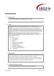 oose_Fortgeschrittenes Design - Entwurfsprinzipien und -muster - iSQI
