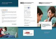 Tests für mehr Qualität im Unterricht - Institut für Schulqualität