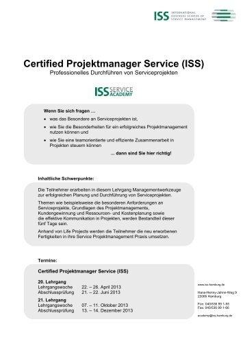 Seminarbeschreibung - ISS International Business School of ...