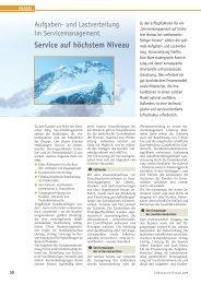 Service auf höchstem Niveau - ISS International Business School of ...