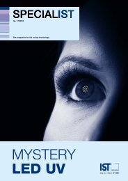 MYSTERY LED UV - IST METZ