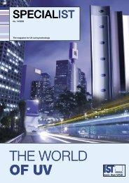 THE WORLD OF UV THE WORLD OF UV - IST METZ