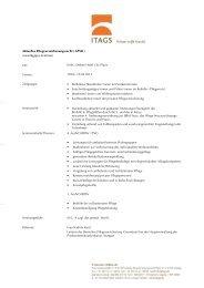 Aktuelles Pflegeversicherungsrecht - IT Agentur Schäfer e.K.