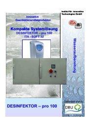 download Flyer - Institut für innovative Technologien GmbH