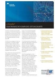 Datenblatt eKoLeiKa - IT-Consult Halle GmbH