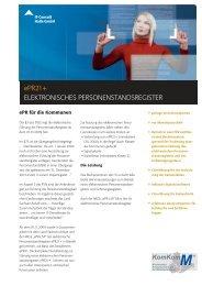 Datenblatt zum elektronischen Personenstandsregister - IT-Consult ...
