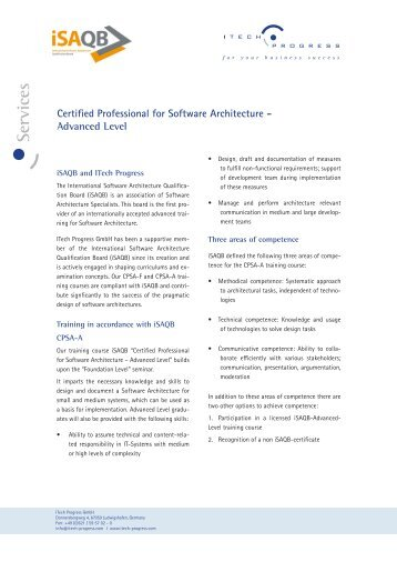 he 3 1 approach to software architecture This document presents a practicabke way of describing software ar- chitectures  using the unified modeling language the approach is based on a 3+1.