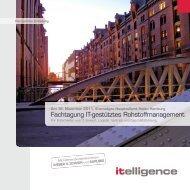 Fachtagung IT-gestütztes Rohstoffmanagement - Itelligence AG