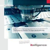Fachtagung flexible Fertigungssteuerung - Itelligence AG