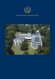 InternatIonaler SeegerIchtShof - International Tribunal for the Law of