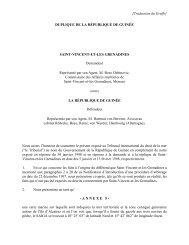 tribunal international du droit de la mer - International Tribunal for ...
