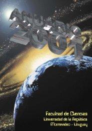 Anuario 2001.pdf - Biblioteca - Facultad de Ciencias
