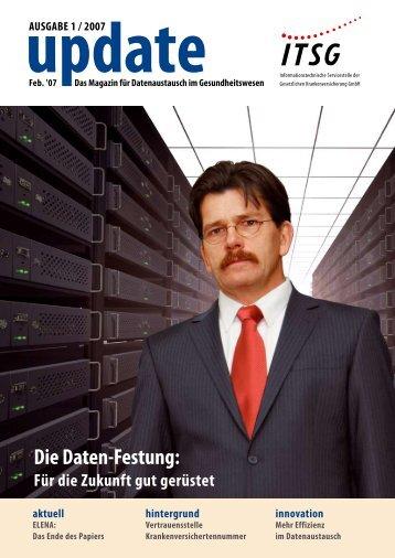 Update - Das Magazin für Datenaustausch im Gesundheitswesen