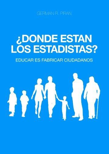 ¿DONDE ESTAN LOS ESTADISTAS? - argentina salvajizada
