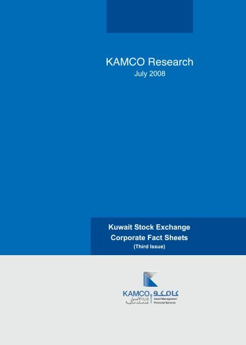 Kuwait Corporate Fact Sheet